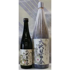 甑島の小さな蔵で作る芋焼酎 六代目百合 芋焼酎 25% 1.8L