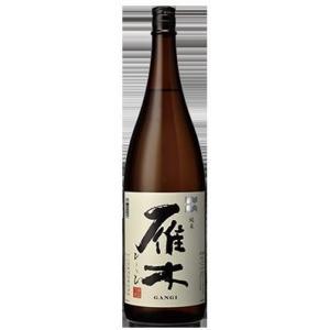 雁木 純米酒 ひとつび 1.8L【山口県岩国市 八百新酒造】...