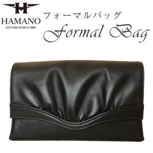送料無料ハマノ ブラックフォーマル クラッチバッグ ナッパー ラム 冠婚葬祭(結婚式、パーティー、葬儀) 濱野皮革工藝 HAMANO|nagoya-itoya