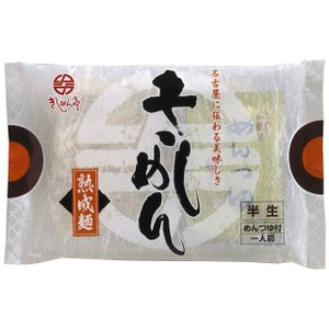 半生きしめん(つゆ付) 10袋入【8/31販売終了】