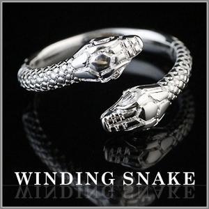 運気上昇の蛇をモチーフにしたリング♪  古くから蛇のモチーフは大変縁起が良く幸福・金運の神とされてい...