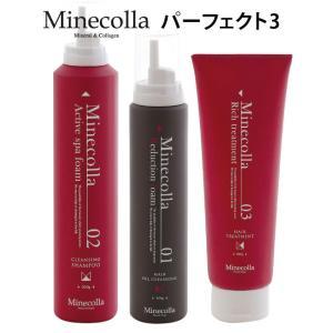 ミネコラ パーフェクト3 リダクションフォーム/アクティブスパフォーム/リッチトリートメント Min...