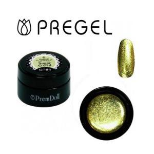 ジェルネイル カラージェル プリジェル PREGEL プリムドール DOLL-701 シュガーゴールド 3g