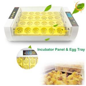 孵卵機 ふ卵機 孵化器 AWHAO 自動インキュベータ 24枚 新型