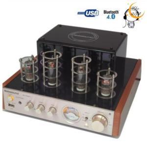 パワ−アンプ 真空管アンプ  ブルートゥース パワーアンプ USB  MS-10D