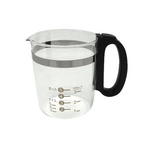 パナソニック(ナショナル)コーヒーメーカー用ガラス容器ACA10-136-KU 黒|naitodenki