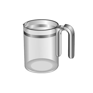 パナソニック(ナショナル)コーヒーメーカー ガラス容器(完成)ACA92-151|naitodenki