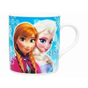 アナと雪の女王 マグカップ ブルー 磁器製 ディズニー|naitokanamono