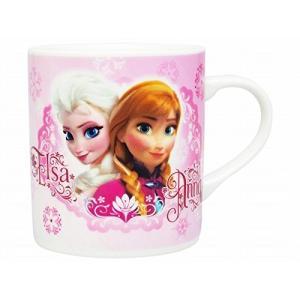 アナと雪の女王 マグカップ ピンク 磁器製 ディズニー|naitokanamono