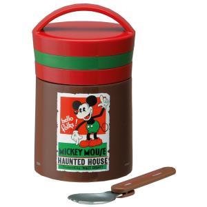 箱つぶれ有SALE ミッキーマウス デリカポット ステンレスフードジャー300ml LJF3 ディズニー|naitokanamono