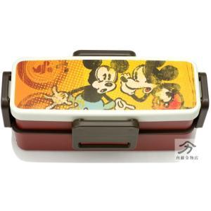 ミッキーマウス 2段弁当箱550ml ディズニー JZWFL6|naitokanamono