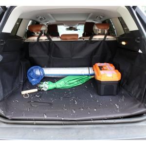 HCMAX ペット用ドライブシート 人気トランクマット 車用ペットシート 犬用カーシートカバー 防水...