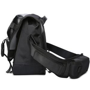 ユーオンボックス(Uonbox) メッセンジャー バッグ フラップ 大容量 防水仕様 ナイロン メンズ ショルダーバッグ 通学 旅行 通勤|naivecanvas