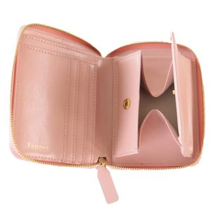 Fennec Zipper Wallet 2 フェネック 二つ折り財布 レディース レザー コンパクト財布 韓国 韓国ファッション Fenn|naivecanvas