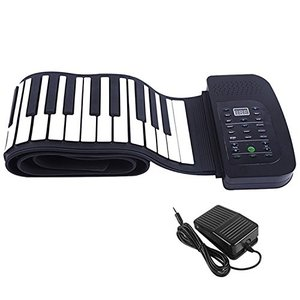 スマリー(SMALY) 電子ピアノ ロールアップピアノ 88鍵盤 持ち運び (スピーカー内蔵) フッ...