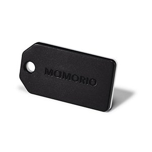 落し物 忘れ物 紛失防止タグ MAMORIO BLACK マモリオ ブラック 世界最小クラス 重量3...