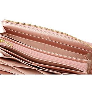 キプリスコンパクトハニーセル長財布(L字ラウンドファスナー束入)ポン6460 (ピンク)|naivecanvas