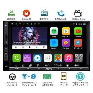 ATOTO A6Y デュアルDin AndroidカーナビゲーションA/Vシステム、デュアルBlue...