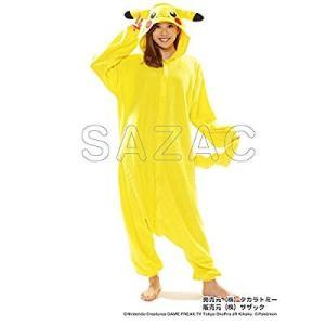 サザック フリース着ぐるみ ポケモン ピカチュウ TMY-022 フリーサイズ(大人用)|naivecanvas