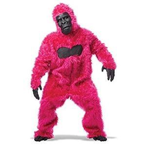 ゴリラ 衣装、コスチューム 大人男性用 着ぐるみ ピンク|naivecanvas