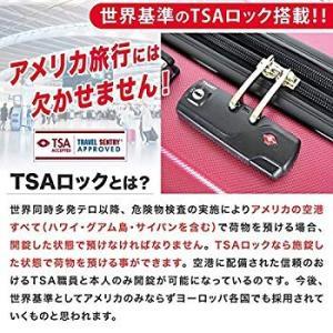 神戸リベラル LIBERAL 軽量 拡張ファスナー付き S,M,Lサイズ スーツケース キャリーバッグ 8輪キャスター TSAロック付き (|naivecanvas