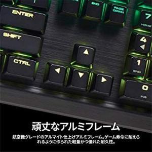 Corsair K95 RGB PLATINUM MX Brown 日本語ゲーミングキーボード KB...