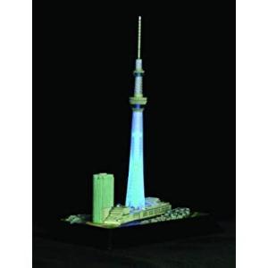 童友社 1/3000 タワーシリーズ 東京スカイツリー 粋風 LEDライト付 プラモデル|naivecanvas