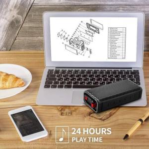 RGBS Bluetooth スピーカー 防水 重低音 大音量 高音質 お風呂 アウトドア ポータブ...