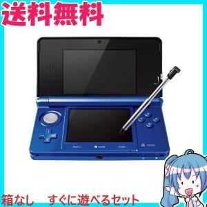 ニンテンドー 3DS 本体 コバルトブルー すぐに遊べるセット 任天堂 中古|naka-store