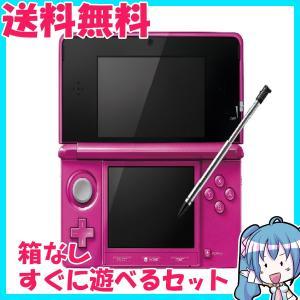 ニンテンドー 3DS グロスピンク 箱なし すぐに遊べるセット 中古|naka-store