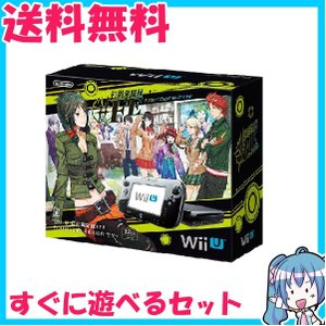 Wii U 本体 32GB 幻影異聞録♯FE Fortissimo Edition フォルティッシモ エディションセット 同梱ソフト付き 中古|naka-store
