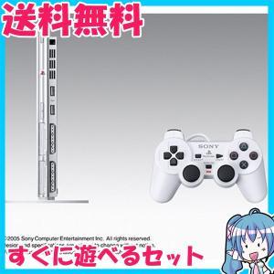 箱なし PlayStation 2 セラミック・ホワイト SCPH-70000CW すぐに遊べるセット プレステ2 動作品 中古|naka-store