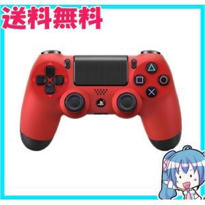 プレステ4 ワイヤレスコントローラー DUALSHOCK 4 マグマ・レッド コントローラーのみ PS4 中古|naka-store