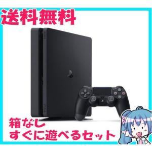 箱なし PlayStation 4 ジェット・ブラック 500GB CUH-2000AB01 プレステ4 中古 すぐに遊べるセット naka-store
