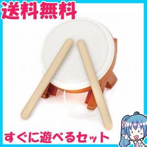箱なし 太鼓の達人 Wii ウィー 専用太鼓コントローラ タタコン 太鼓とバチ 動作品 中古 |naka-store
