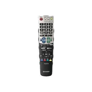 シャープ 液晶テレビ用 リモコン 0106380390|nakaden