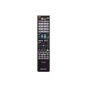 シャープ 液晶テレビ用 リモコン 0106380437|nakaden