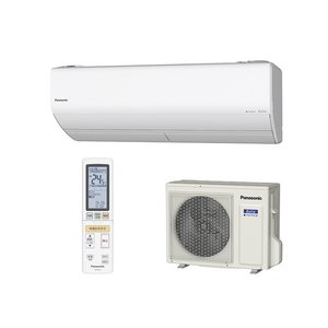 Panasonic  インバーター冷暖房除湿タイプ ルームエアコン CS-X259C-W