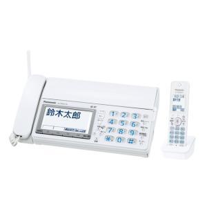 Panasonic  デジタルコードレス普通紙ファクス(子機1台付き) KX-PD615DL-W