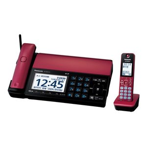 Panasonic  デジタルコードレス普通紙ファクス(子機1台付き)  KX-PD915DL-R