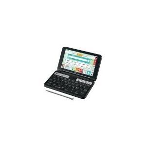 SHARP カラー電子辞書(音声対応/タイプライターキー配列)  PW-SH6-B(ブラック系)|nakaden
