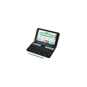 SHARP カラー電子辞書(音声対応/タイプライターキー配列)  PW-SH6-K(ネイビー系)|nakaden
