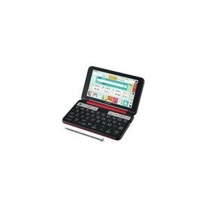 SHARP カラー電子辞書(音声対応/タイプライターキー配列)  PW-SH6-R(レッド系)|nakaden