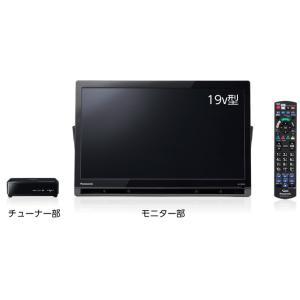 Panasonic  ポータブル地上・BS・110度CSデジタルテレビ UN-19FB9-K nakaden