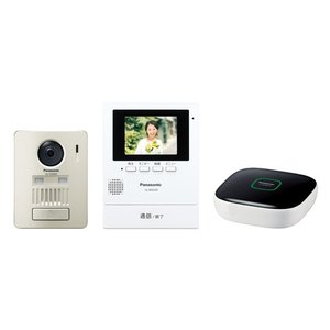 Panasonic  モニター壁掛け式ワイヤレステレビドアホンキット VL-SGZ30K|nakaden