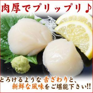 北海道産 ホタテ貝柱  1kg お刺身用 小さめサイズ(生 ほたて ホタテ 帆立 バラ )海鮮 グルメ|nakagawa-k-ichiba|05