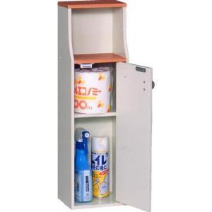 ヴィット トイレ収納 VIT-3 三和コーポレーション トイレ 収納 スリム コンパクトの写真