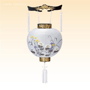 盆提灯 盆ちょうちん お盆提灯 置き 廻転灯篭 桜製 ローソク 中原三法堂|nakahara-sanpoudo