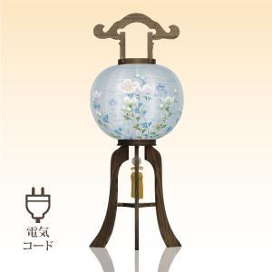 盆提灯 盆ちょうちん お盆提灯 置き 松 廻転灯篭 桜製 電気コード式 中原三法堂|nakahara-sanpoudo