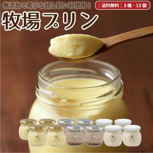 〔冷蔵品送料無料〕なかほら牧場ぷりん12個セット [冷蔵]  プリン 牛乳 放牧 放し飼い卵 手づくり 無添加 ギフト 青空レストラン|nakahora-bokujou